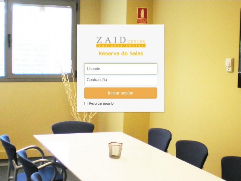 ZaidCenter. Reserva de Salas